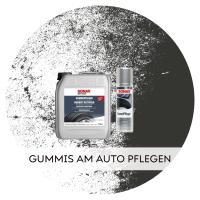 Gummis am Auto pflegen