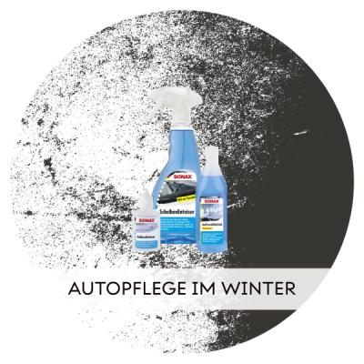 Autopflegeprodukte für den Winter -...