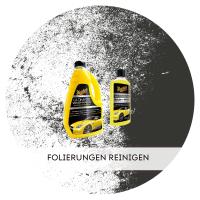 Autofolierungen reinigen