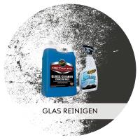 Glas am Auto reinigen