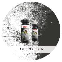 Folie polieren