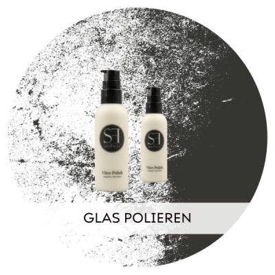 Auch Glas kann man mit der richtigen Politur...