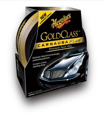 MEGUIARS GOLD CLASS CARNAUBA PLUS PREMIUM PASTE WAX 311gr