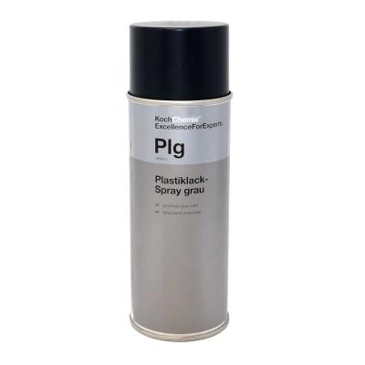 Koch Chemie Plastiklack-Spray grau Plg 400 ml | Sprühlack grau matt
