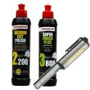 Menzerna Lack Refresh Bundel inkl. COB Stiftlampe