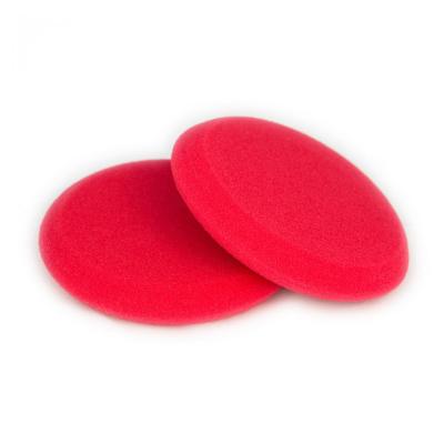 Kingsize Lederpflegeapplikator rot 2 er Pack | Auftrage Pad für Lederpflege