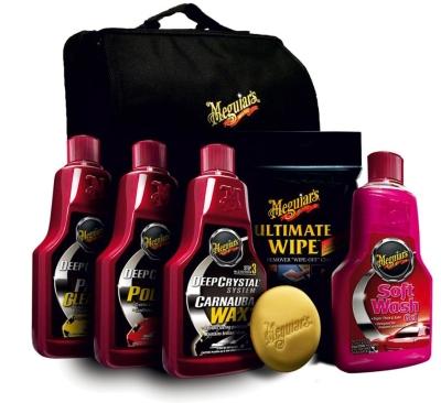 JUBILÄUMS-SET 110 JAHRE MEGUIARS | kleine Detailer Bag inkl. Produkte