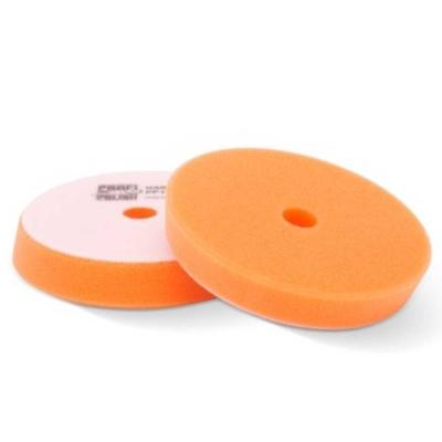 ProfiPolish Polierschaum DA hart orange Ø 145 mm
