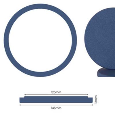 Nanolex Polier Pad 145x13x125, Soft, Dunkel Blau x3 VERSION 2020