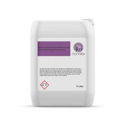 Nanolex Interior Cleaner Concentrate 5 Liter | Innenraumreiniger Konzentrat