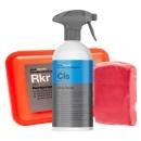 Koch Chemie Reinigungsknete rot Rkr abrasiv 200g & CLS Clay Spray Gleitspray 500ml
